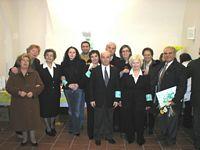 Rappresentanti delegazione AVULSS Abruzzo.