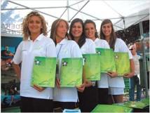 ragazze del pentathlon