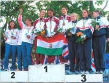 podio pentathlon