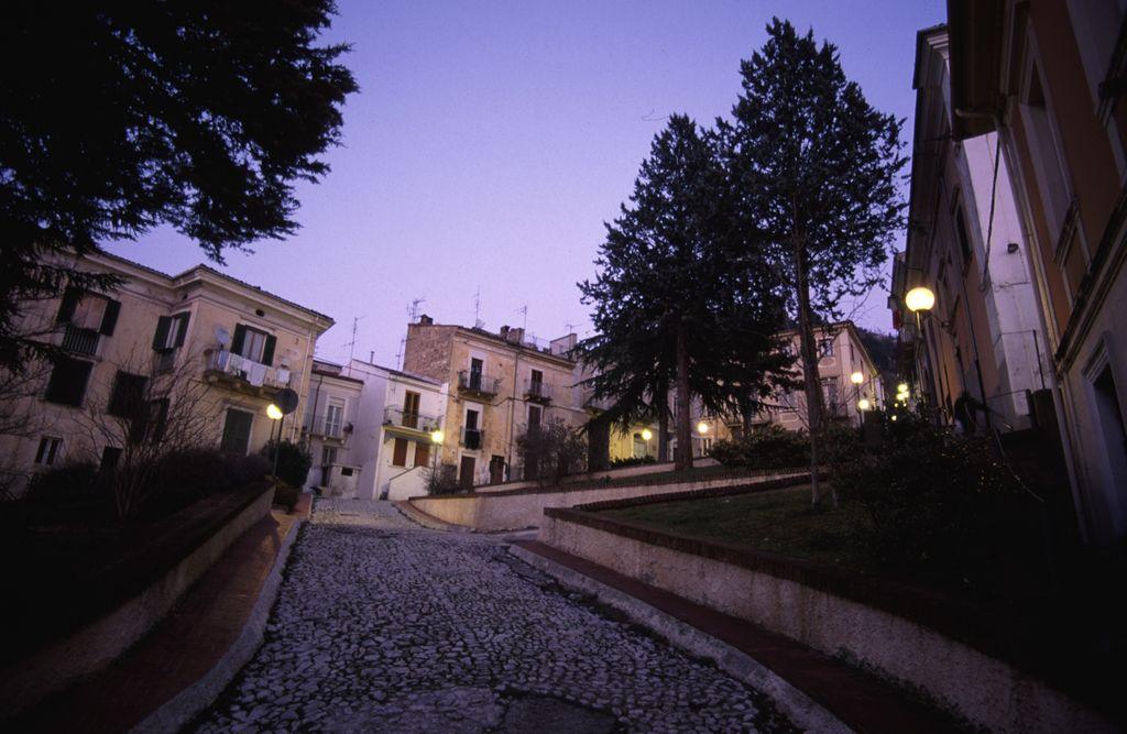 Salita dDi Cocco, zona vecchia sede municipale