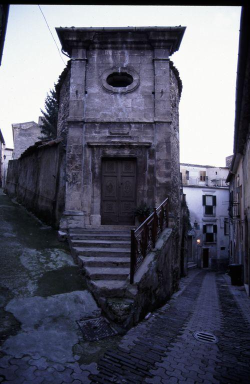 Facciata della chiesa di Maria SS. Addolorata